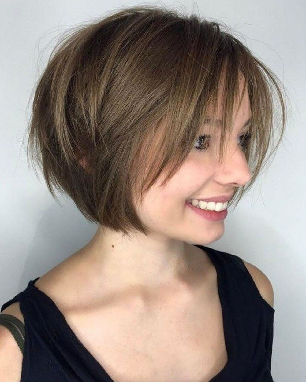 The Best 30 Best Short Bob Haircuts With Bangs And Layered Bob Hairstyles – Page 8 – Hairstyles Pictures