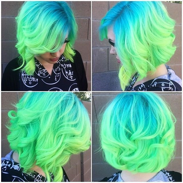 The Best Blue Green Hair Pictures Photos And Images For Facebook Pictures