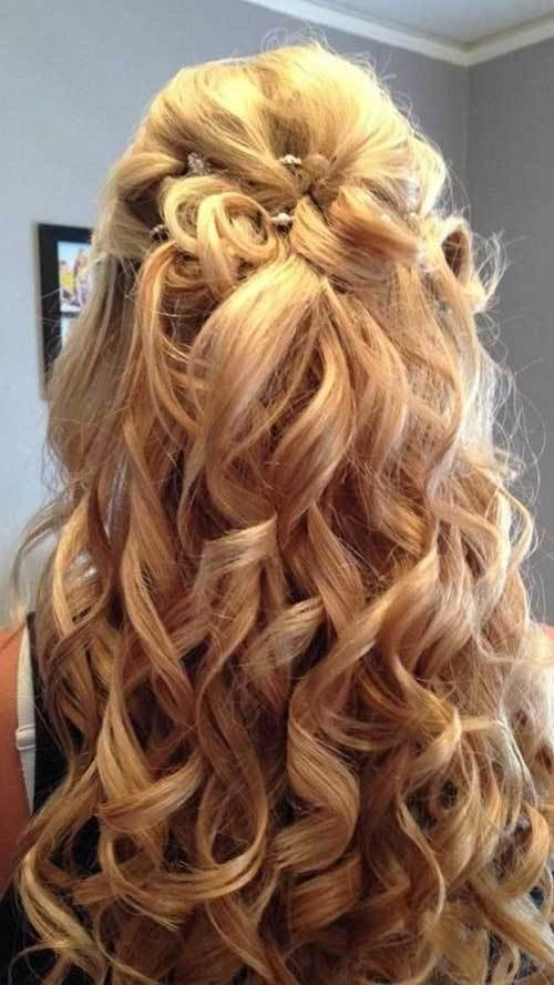 The Best 30 Best Half Up Curly Hairstyles Hairstyles Haircuts Pictures