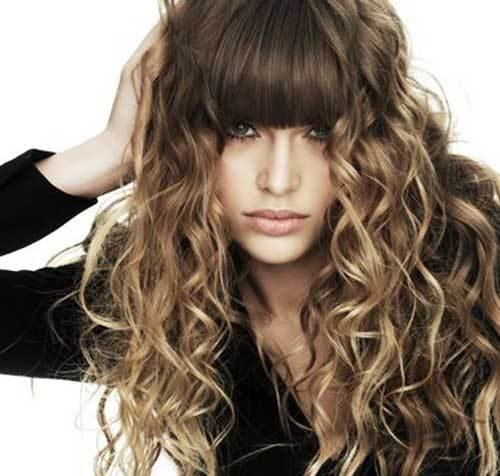 The Best 30 Best Curly Hair With Bangs Hairstyles Haircuts 2016 Pictures