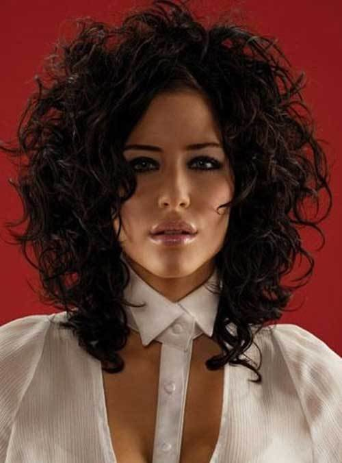 The Best 35 Medium Length Curly Hair Styles Hairstyles Haircuts Pictures