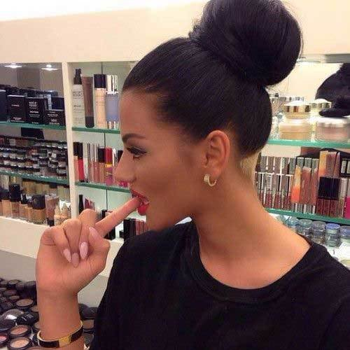 The Best Pretty Big Bun Hairstyles For Ladies Hairstyles Haircuts 2016 2017 Pictures