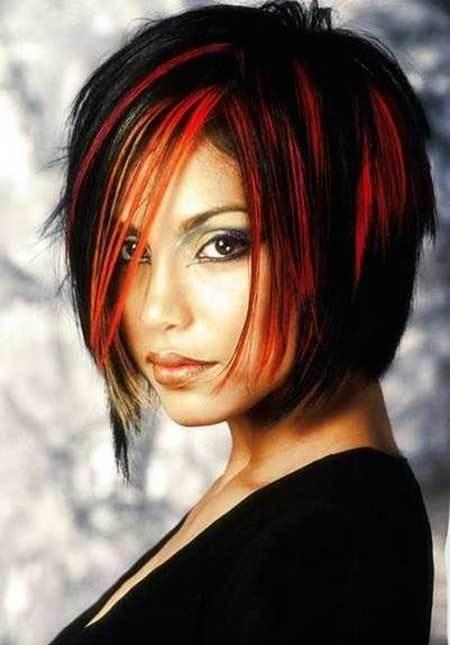 The Best Amazing Black And Red Colored Hairstyles Hairstyles Pictures