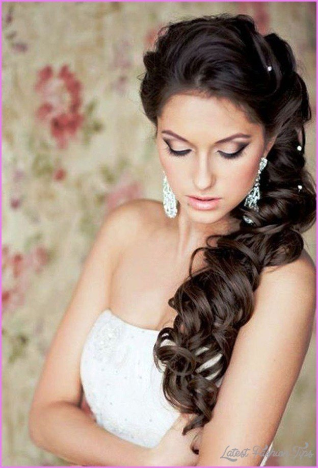 The Best Bridal Hairstyles Long Hair Down Latestfashiontips Com Pictures