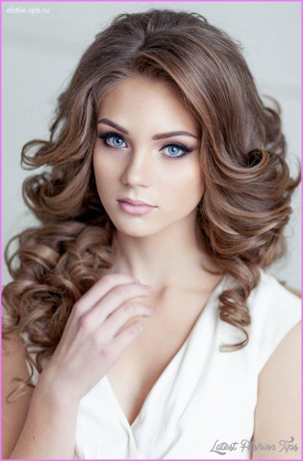 The Best Bridal Hairstyles Loose Curls Latestfashiontips Com Pictures