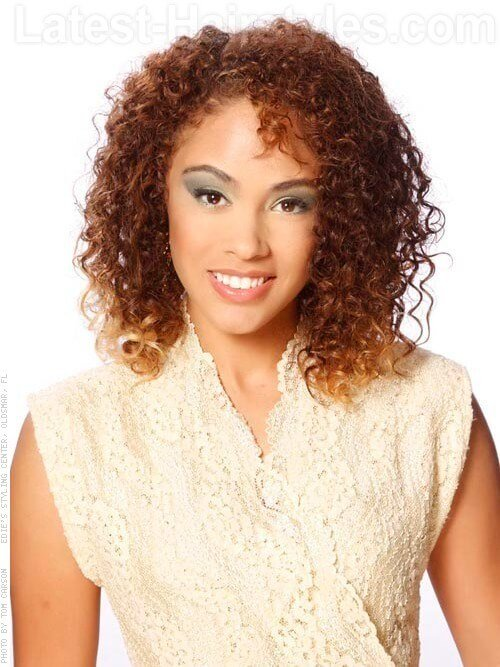 The Best Medium Length Hairstyles For Naturally Curly Hair Pictures