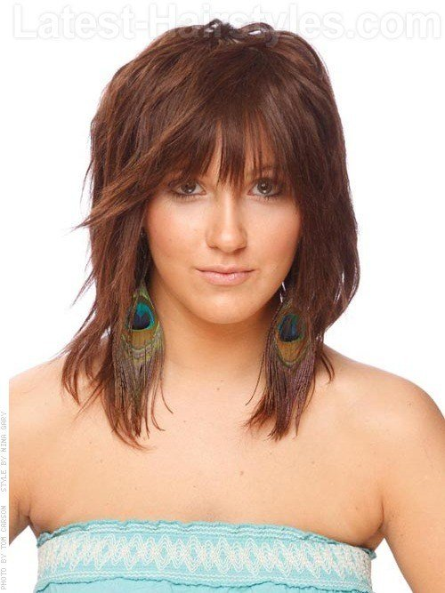 The Best Edgy Medium Haircuts 2012 Pictures