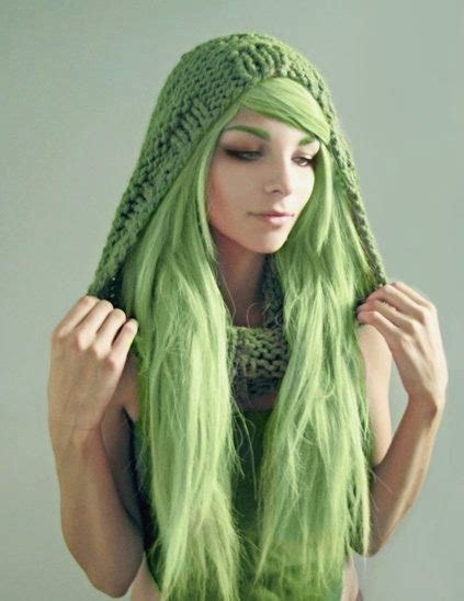 The Best Green Hair Color Idea Of Women S Hair Pictures