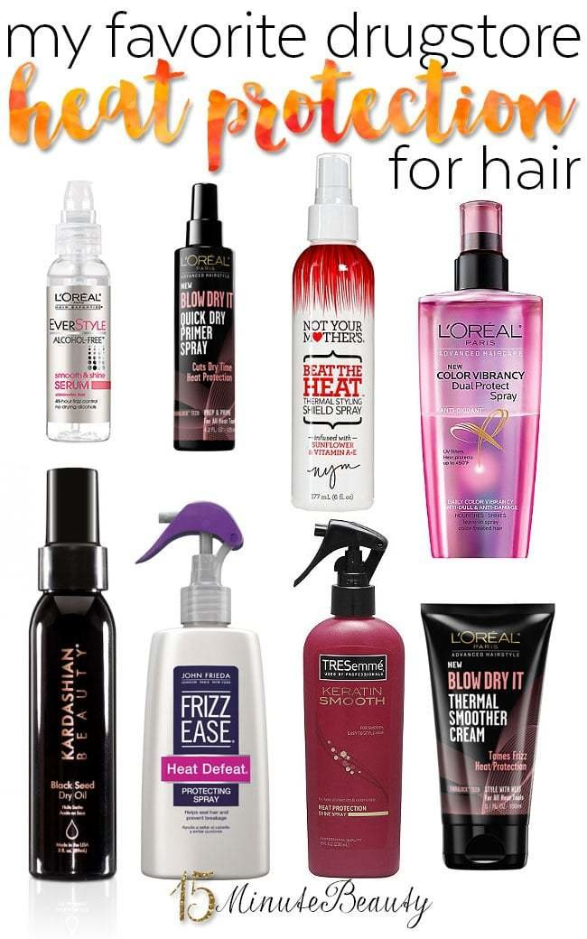 The Best My Favorite Drugstore Heat Protectants For Hair 15 Pictures