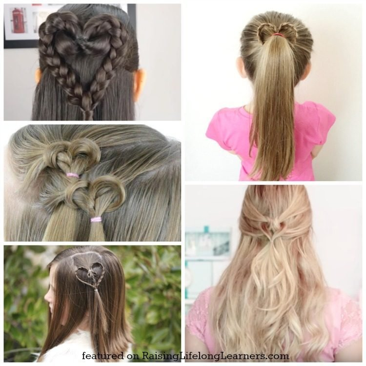 The Best 50 Adorable Valentine S Day Hairstyles For Girls Easy Pictures
