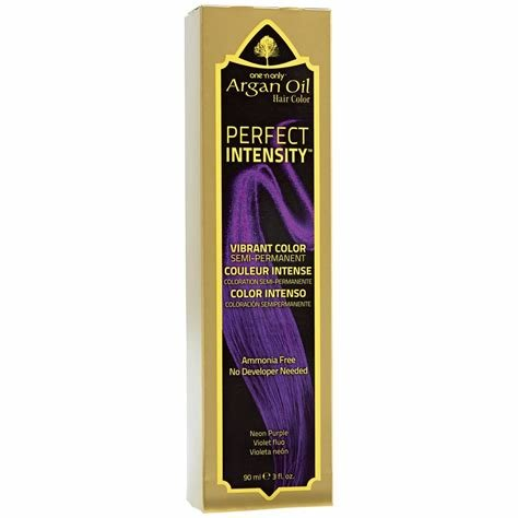 The Best One N Only Perfect Intensity Argan Oil Hair Color Neon Purple Pictures