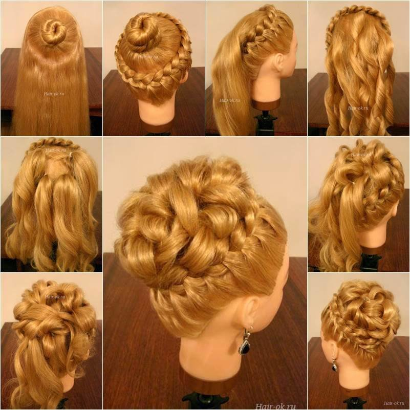 The Best Wonderful Diy Elegant Hairstyle With Braids And Curls Pictures