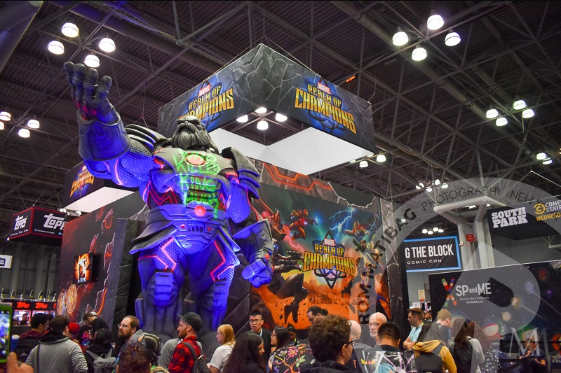 Colossal statue at Javits