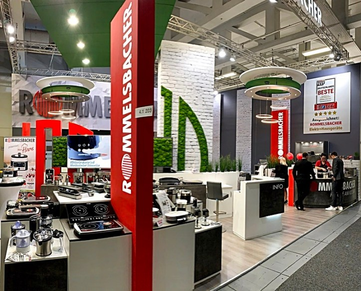 Messe IFA 2019 Rommelsbacher Stand