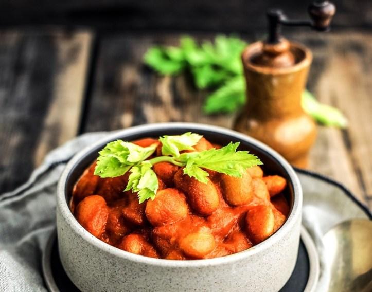 Bild zum Rezept Weiße Bohnen in Tomatensauce