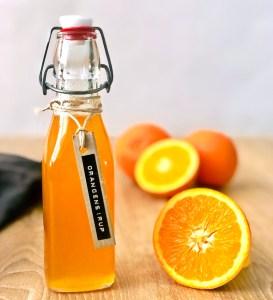 Orangensirup selbstgemacht mit der Zitruspresse ZP 60 Rommelsbacher - selbstgemachter Fruchtsirup aus Zitrusfrüchten