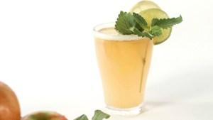 Zitronencocktail - mit selbstgemachtem Zitronensirup