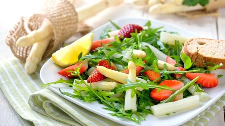 Spargel Erdbeer Salat - von Koch-mit.de