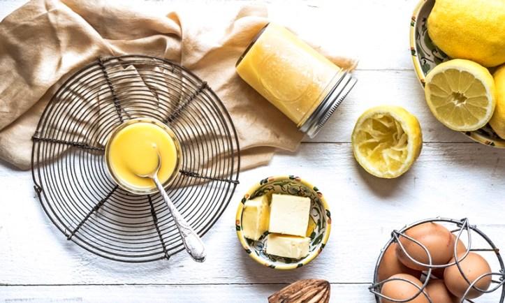 Zutaten für Lemon Curd - Zitronencreme
