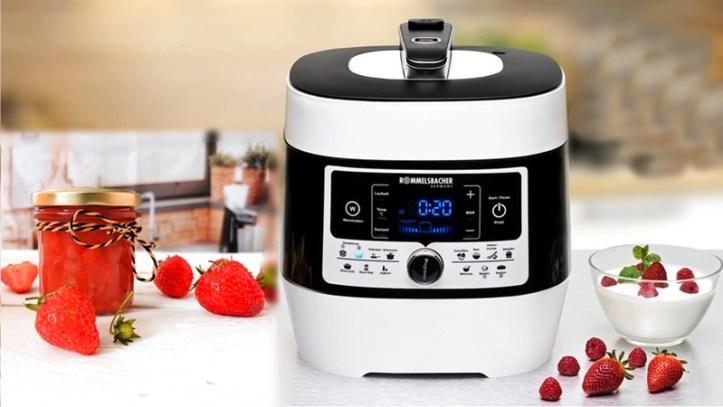 Dampfdruck- & Multikocher MeinHans MD 1000 zum Kochen von Marmelade und Konfitüre und Chutneys