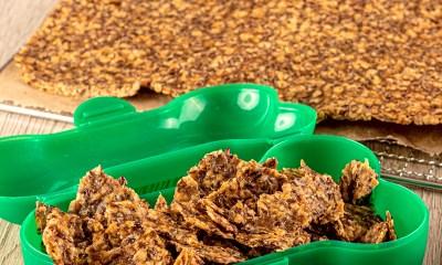 Hundeleckerli selbstgemacht im Dörrgerät von rommelsbacher - Rezept -