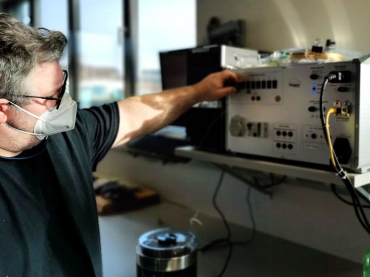 Gerätetest im Rommelsbacher Servicelabor