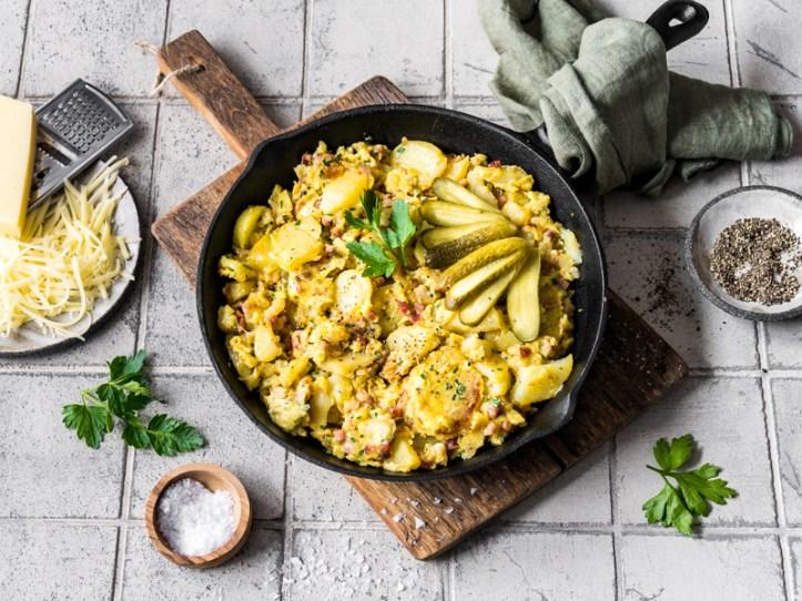 Hoppel Poppel  clever kochen mit Kartoffeln vom Vortag - Rezept  Rommelsbacher. 7 Rezepte: Kreative Resteküche mit Kartoffeln