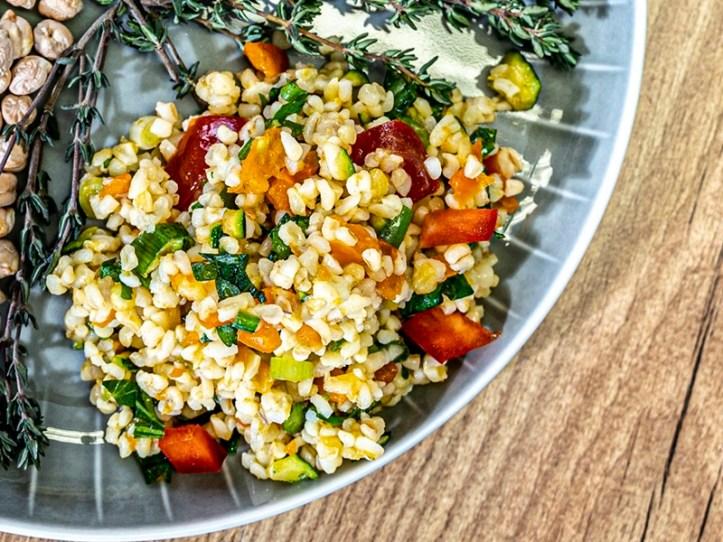Bulgursalat aus dem Reiskocher  - Rezept