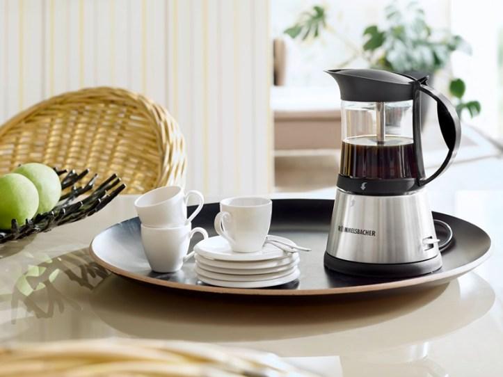 elektrischer Espressokocher EKO 376/G von Rommelsbacher -