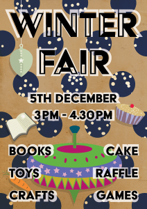 Winter Fair illustrated poster