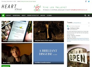 Heart of Stroud website