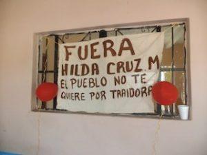 Pobladores de Boca del Río cierran la agencia y desconocen a Hilda Cruz (2)