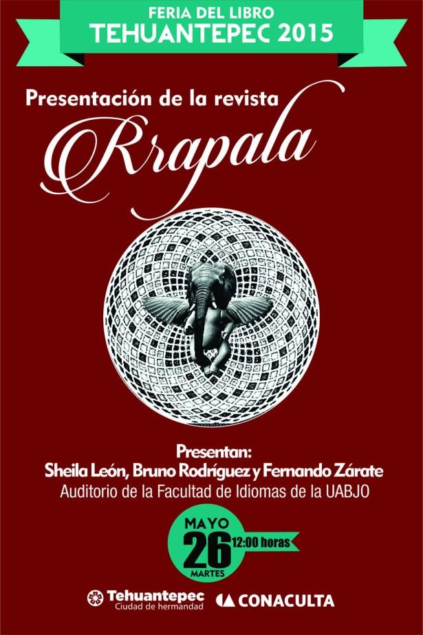 26 Mayo flyer RRAPALA