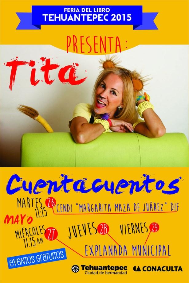 26 al 29 Mayo flyer Tita Cuentacuentos