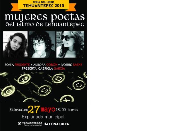 27 Mayo flyer Nueva poesÃ-a del istmo