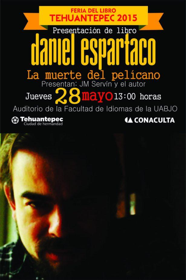 28 Mayo flyer DANIEL ESPARTACO