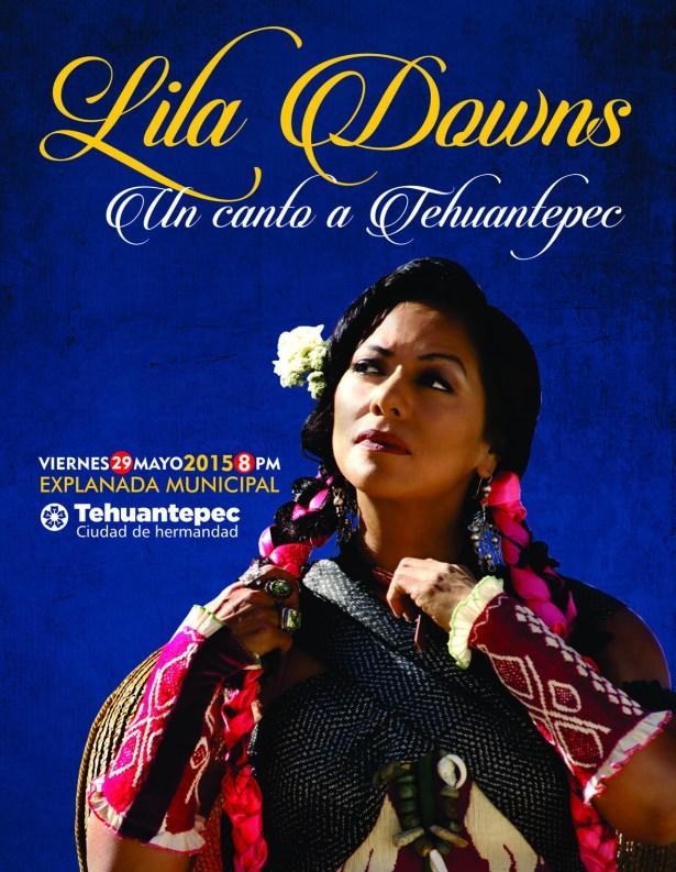 flyer Lila Downs tehua