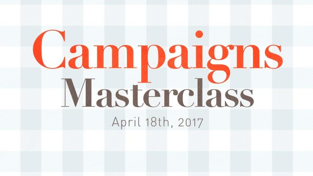 Lecture on Social Campaigns and Advertising Strategies