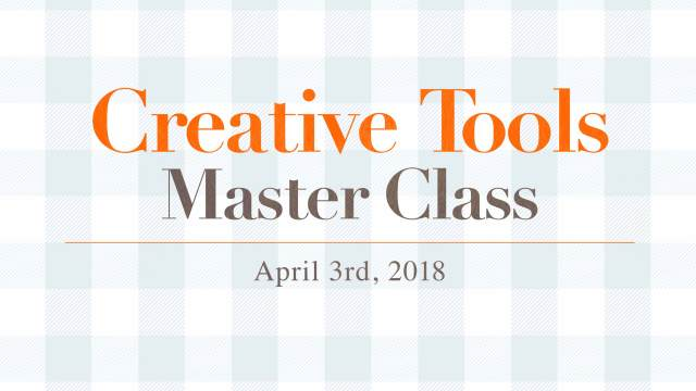 Lecture on Creative Tools