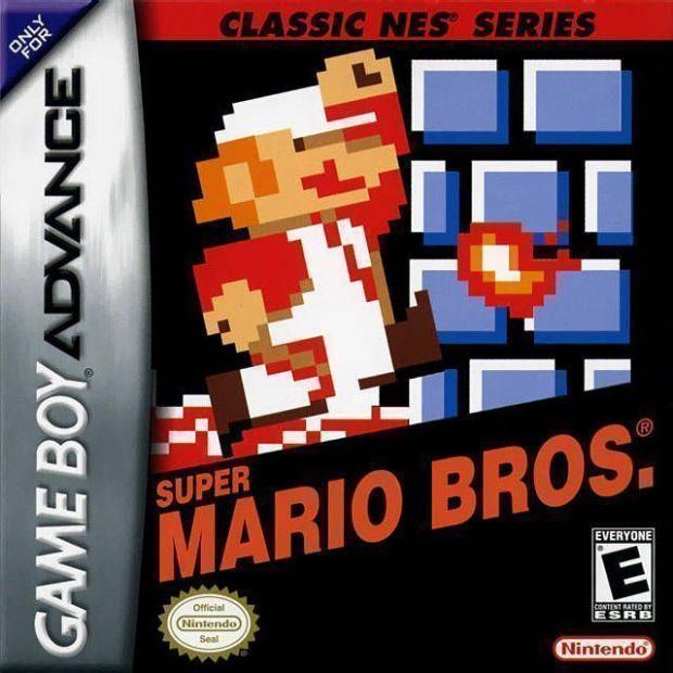 Classic NES – Super Mario Bros. (USA) Game Download Gameboy Advance