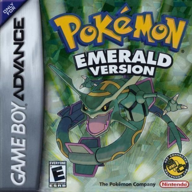 Pokemon - Emerald Version (USA) Game Cover