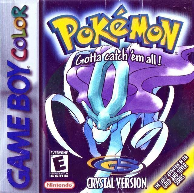 Pokemon - Crystal Version (V1.1) (USA Europe) Game Cover
