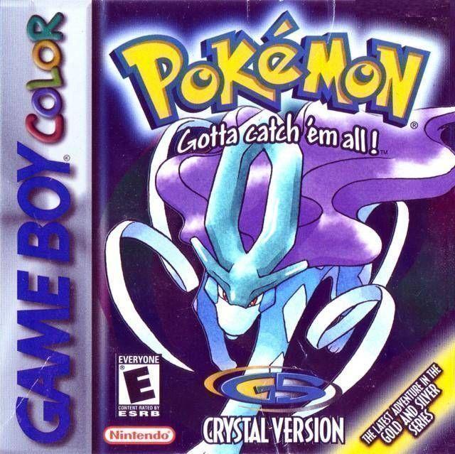 Pokemon - Crystal Version (V1.1) (USA Europe) Game Cover