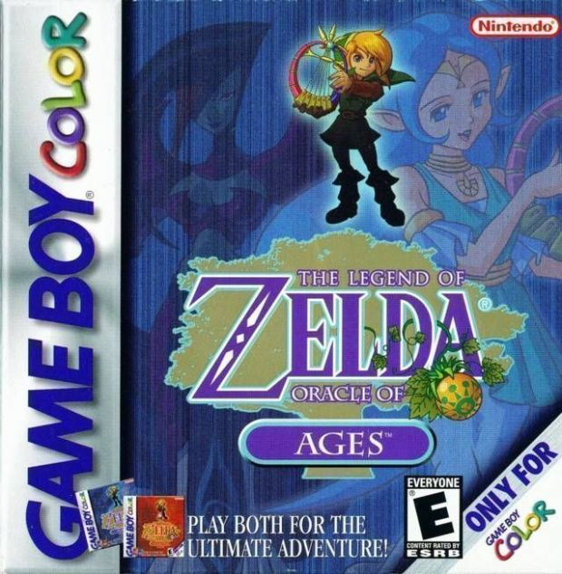 Legend Of Zelda, The – Oracle Of Ages (USA) Game Download Gameboy Color