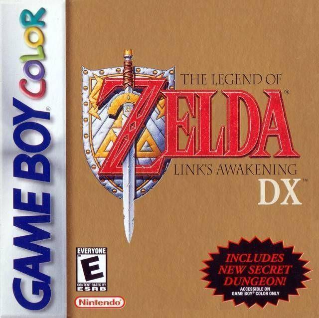 Legend Of Zelda, The - Link's Awakening DX  (V1.2) (USA) Game Cover