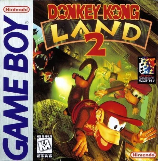 Donkey Kong Land 2 (USA Europe) Game Download Gameboy