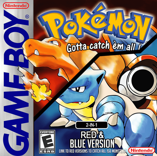 Pokemon Red-Blue 2-in-1 (Unl) (USA) Game Download Gameboy