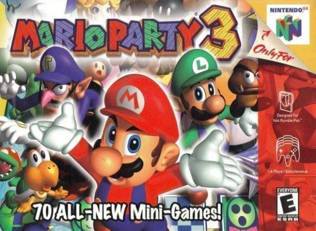 Mario Party 3 (USA) Game Download Nintendo 64