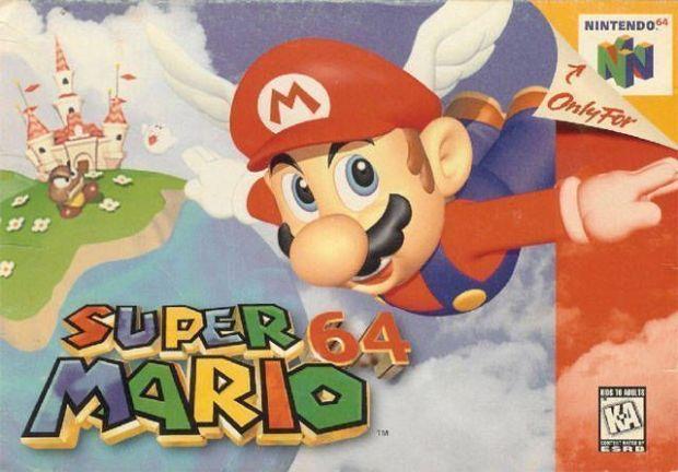 Super Mario 64 (Japan) Game Download Nintendo 64