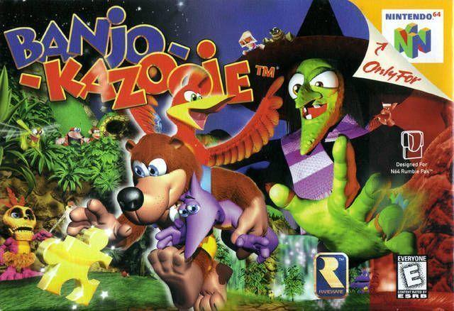 Banjo-Kazooie (USA) Game Cover
